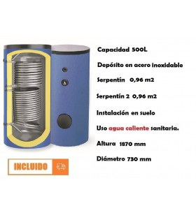 INTERACUMULADOR INOXIDABLE...