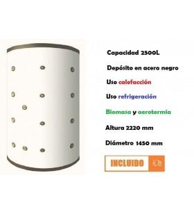 DEPÓSITO INERCIA 2500L...
