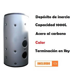 DEPÓSITO DE INERCIA 1000L...