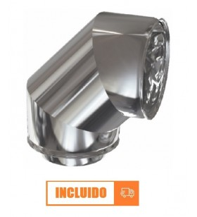 CODO 90º DOBLE PARED INOX...